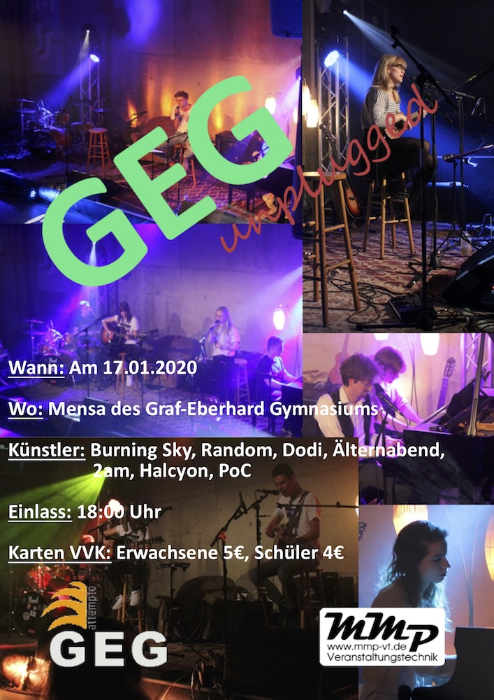 GEG Unplugged